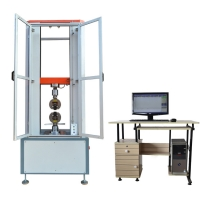 Wholesale 10 Ton Computer Servo Universal Testing Machine with Protective Door from china suppliers