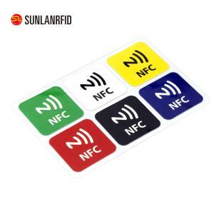 China 13.56MHz Custom Printed Rewritable RFID NFC Tag Label Sticker (SL-1002) on sale
