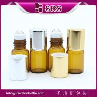 Wholesale mini empty 2ml glass roll on bottle and 2ml empty roll on bottle with Aluminum cap from china suppliers