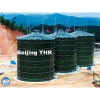 5000 M3 Anaerobic Digester Tank Glass Fused To Steel Material Fast Installation