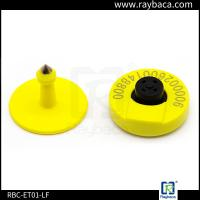 Wholesale Electronic LF RFID Animal Ear Tag Stable Distance Recognition Small Size For Livestock from china suppliers