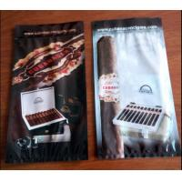 Wholesale custom printed laminated plastic cigar wraps packaging bag/Ziplock to open and close the bag easily from china suppliers