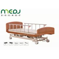 Wholesale Wooden Head Clinic / Hospital Patient Bed MJSD04-03 Electric Control from china suppliers