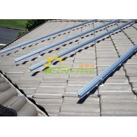 Wholesale Reliable Metal Roof Solar Mounting Systems With Great Adjustability from china suppliers
