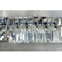 Compact Structure Aseptic Bag Filler , Liquid Filling Machine Pharmaceutical for sale