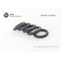 Wholesale perfluoro rubber/fluoroether rubber  FFKM/FFPM black +300 degre celcisus high temperature  resit o-ring from china suppliers