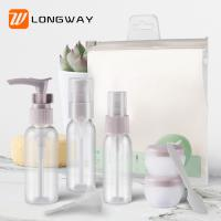 Wholesale 9pcs PET Lotion Spray Travel Toiletry Bottle Kit For Personal Care Customized Color from china suppliers
