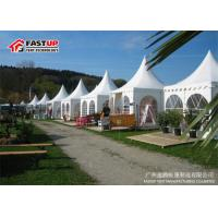 250 Person Pagoda Party Tent Customized Size Galvanised Aluminum Frame