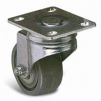 Buy cheap 50kg Furniture Caster, Made of PUP/TPR, with 28mm Wheel and 62mm Outside from wholesalers