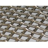Wholesale Pvc coated Double oriented crimped wire mesh,  Stainless steel iron , Square from china suppliers