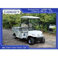 Wholesale Energy Saving White Color Farm Electric Cargo Van / Mini Utility Vehicle from china suppliers