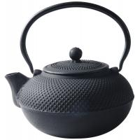 Wholesale Black Hobnail Cast Iron Teapot , 900ml Chinese Cast Iron Tea Set from china suppliers