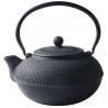 Buy cheap Black Hobnail Cast Iron Teapot , 900ml Chinese Cast Iron Tea Set from wholesalers