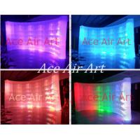 Wholesale new led lighting inflatable photo booth backdrop wall for photograph on promotion from china suppliers