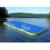 Wholesale 6 X 2 Meters Inflatable Floating Water Walkway Water Slide Toy For Adults / Kids from china suppliers