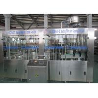 Best Low Temperature Carbonated Drink Filling Machine / Glass Bottle Isobaric Filling Machine wholesale