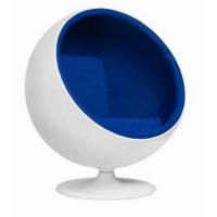 Wholesale Egg Pod Fiberglass half Ball Chair space egg chair from china suppliers