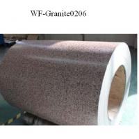 Marble Patterned Color Coated Steel Coil , Galvanized Steel Sheet In Coil