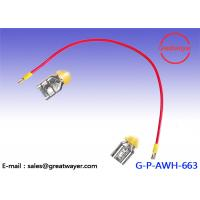 Electrical Wiring Harnesses 600V 105 Degree 12AWG Wire 0.635 Disconnector Battery Tterminal