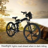 Wholesale Lightweight Adults Foldable Electric Bike With Li Battery And Magnesium Alloy Wheel from china suppliers