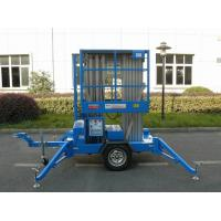 Wholesale 12m towable scissor lift electric aluminum mast lift plataforma elevadora trailer aerial platform 12m trailer boom lift from china suppliers