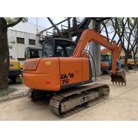 Wholesale HITACHI ZX70 Second Hand Excavators 7 Ton 0.4cbm Bucket Capacity from china suppliers