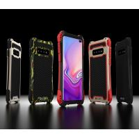 China Samsung Galaxy S10 S10+ Plus Cell Phone Case Heavy Duty Full Protection Cover Metal Silicone Gel Rubber Outdoor Sports on sale