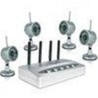 Wholesale View 4 infrared Images Wireless CCTV Camera Systems CX-W802Z4 with 2.4ghz receiver from china suppliers