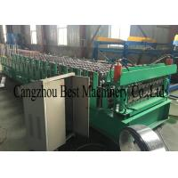 China House Building Double Layer Two Profiles Roof Sheet Roll Forming Machine for sale