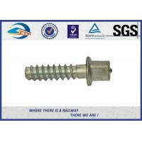 SS8 Railway Sleeper Screws Railroad Screw Spikes With HDG Coating for sale
