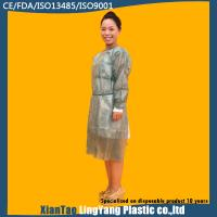 Wholesale Custom Made Disposable Chemotherapy Gowns , Cardinal Health Isolation Gowns from china suppliers