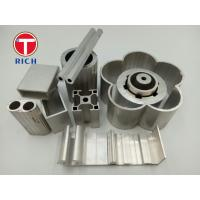 China Extruded Textile Industry Industrial Special Steel Profiles Rectangular Aluminum Extrusion on sale