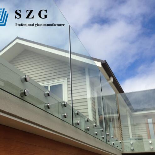 balustrade balcony railing glass