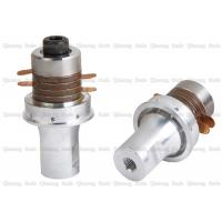 China Inverted Flange Ultrasonic Piezoelectric Transducer For Non Woven Sealing Machine on sale