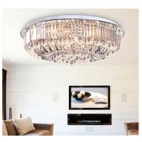 Wholesale Round crystal ceiling lamp top design LED glass ceiling lamp from china suppliers