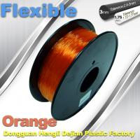 Wholesale Orange 3.0mm / 1.75mm Rubber  Flexible 1.0KG / Rolls 3D Printer Filament from china suppliers
