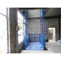 China Industrial Freight Material Lift Elevator With Starting Up Compensation Technology on sale