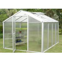 Wholesale Aluminium Frame Indoor Garden Greenhouse , Mini Garden Greenhouse For Plants Grows from china suppliers