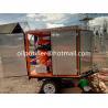 mobile transformer oil filtration plant,single axle trailer oil purifier, filter machine for vegetable oil transformer for sale