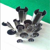 Best high qualit ystainless steel double slotted round tube 316 304 pipe wholesale