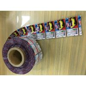 Multi Color Printed Plastic Film / Plastic Packaging Film Leak Proof for sale
