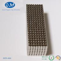 Wholesale N35 Nickel Coated Neodymium Cylinder Magnets 2 X 3 mm For Educational Toy from china suppliers