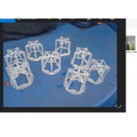 Buy cheap Plastic Pentagons Packing for CO2 Plant Adsorber Tower with Corrosive and high from wholesalers