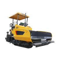 China XCMG Concrete Asphalt Paver Machine Rental , 12 tons Hopper Capacity Road Paving Machine on sale