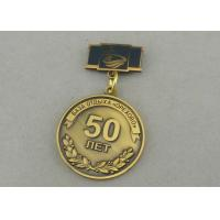 Wholesale Zinc Alloy Custom Awards Medals Die Costing Antique Gold Double Side 3D Military from china suppliers