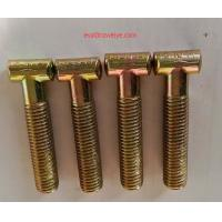 Buy cheap German half coupler  M14 81mm  8.8 grade zinc plated T- BOLT from wholesalers