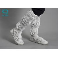 China 0.5 Grid Antistatic ESD Safe Cleanroom Boots Rubber Outsole 35-38 Size on sale