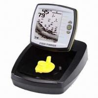 Wholesale Fish Finder with 4.5 Inches Display, Measures 6.3 x 5.7 x 1.9 Inches from china suppliers
