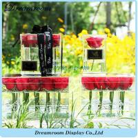 Wholesale Newest and High Quality OEM Plastic Wholesale Acrylic Flower Acrylic Box from china suppliers