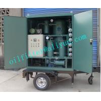 ZYD-M Mobile Trailer Transformer Oil Filtration Plant,Trolley Mounted Oil Purifier With Covers,Color Optional,4 Wheels for sale